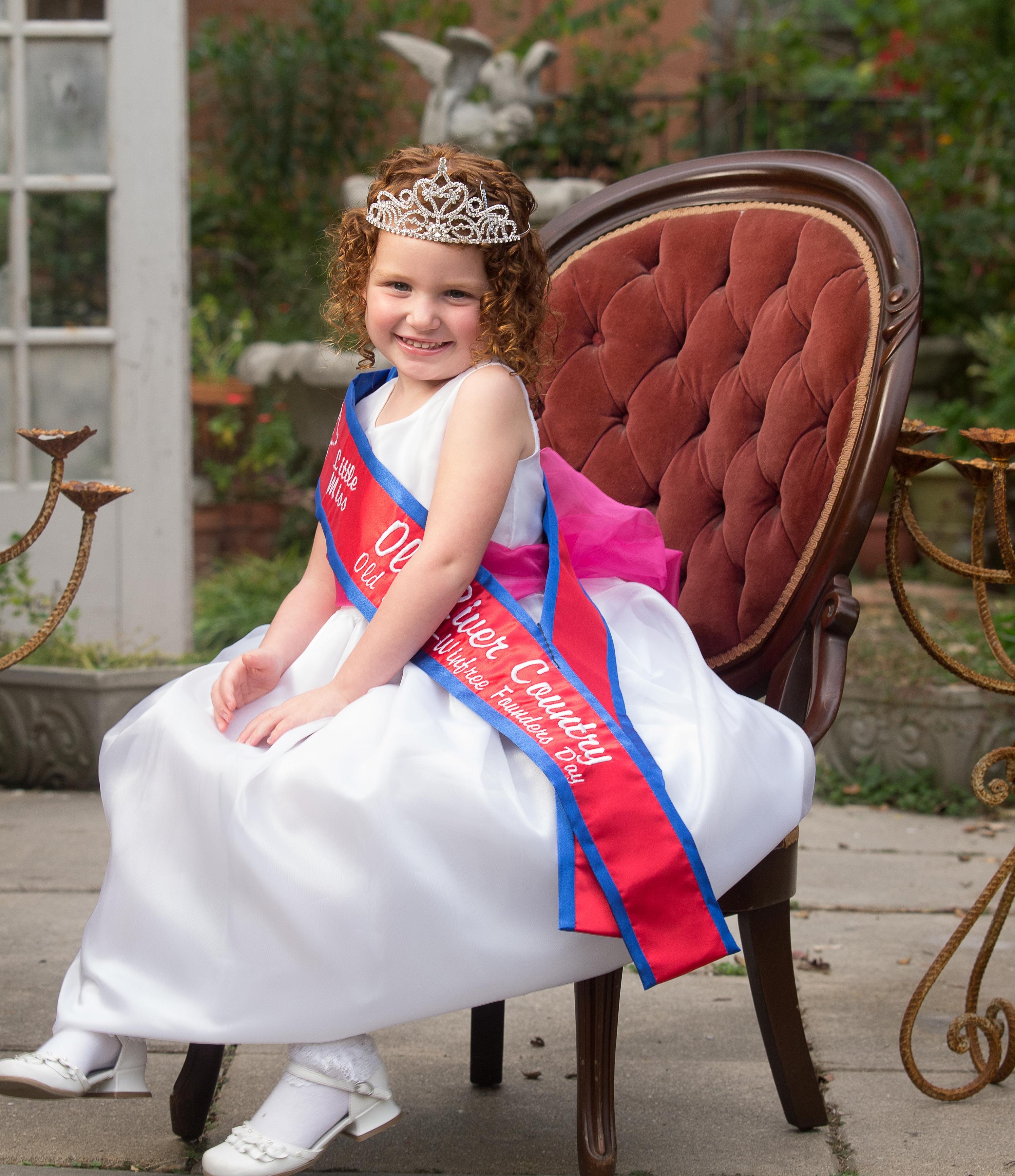 Child beauty pageant winner