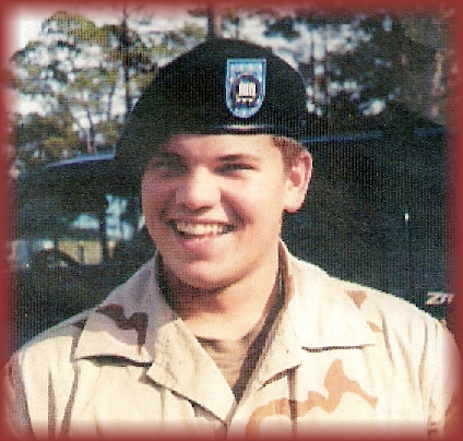 Pfc Wesley R. Riggs, graduated from Barbers Hill High School in 3 years.