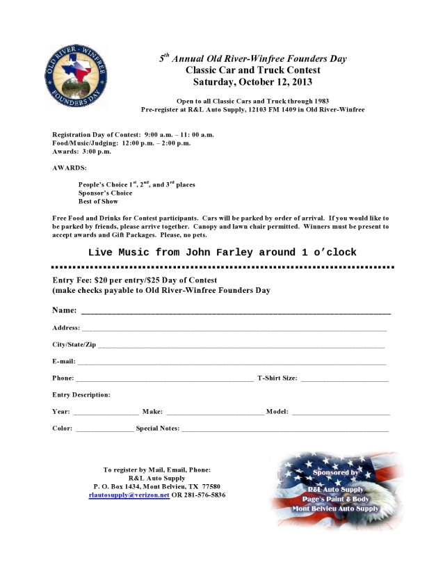 2013 Classic Car and Truck Contest