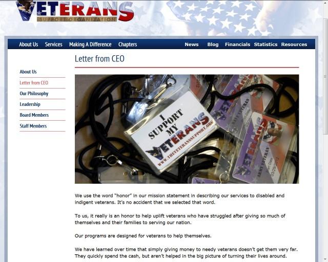 VeteranSupportOrganization