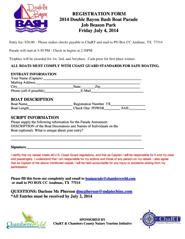 Double Bayou Bash Boat Registration Form-page-0