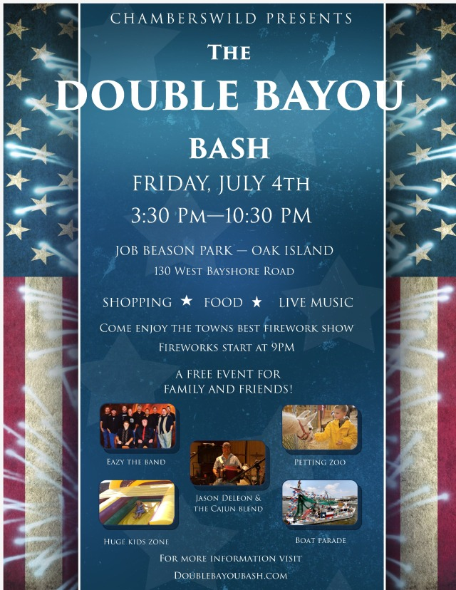 Double Bayou Bash event flyer-page-0